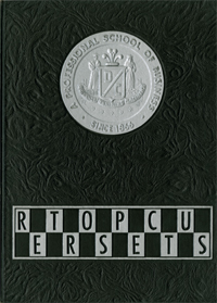 1968 Retrospectus Yearbook Cover