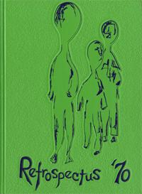 1970 Retrospectus Yearbook Cover