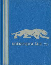 1972 Retrospectus Yearbook Cover