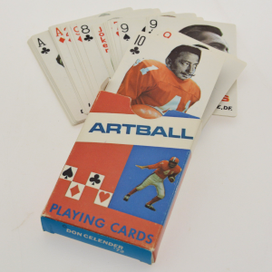 image of cards inside artball by don celender