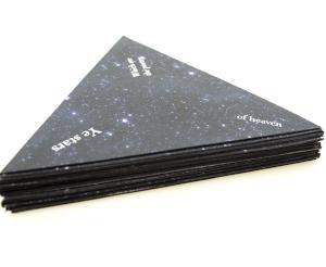 Star Poems folded