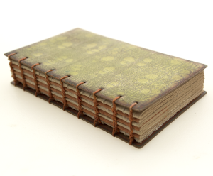 The front cover of Green Birchwood Book
