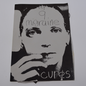 cover image of My nine migraine cures by Ann Kalmbach and others