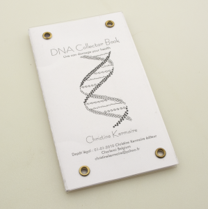 cover image of dna collector book by christine kermaire