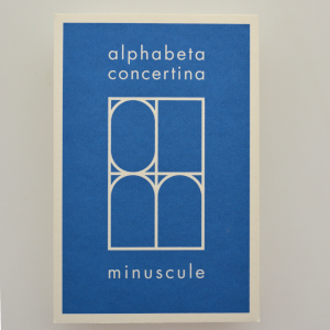 image of cover of alphabeta concertina minuscule by ron king