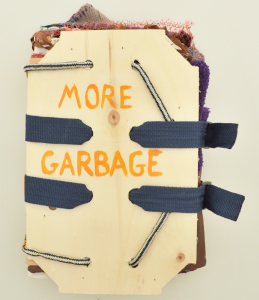 cover image of more garbage by lise melhorn-boe