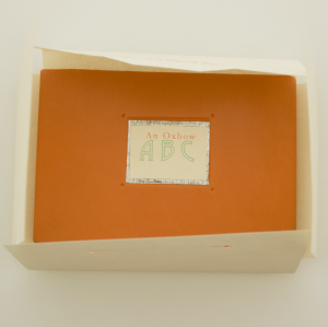 An Oxbow ABC closed showing the front cover