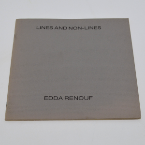 image of lines and non-lines by edda renouf