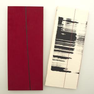 Wurmzauber next to red cardboard covering