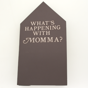 cover image of what's happening with Momma? by clarissa t. sligh