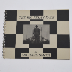 cover image of the big relay race by michael smith and others