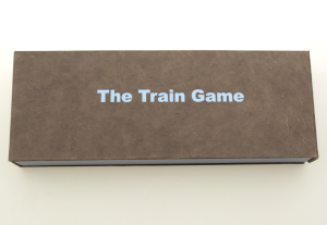 Front cover of The Train Game