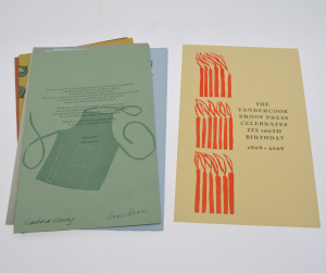 image of the vandercook book by various authors