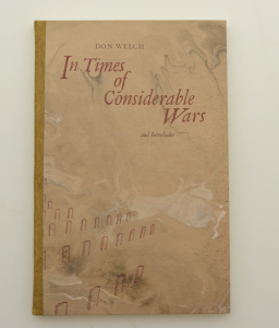 Front Cover of In Times of Considerable Wars and Interludes