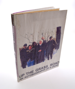 cover image of up the grass roots by violet bruner windell