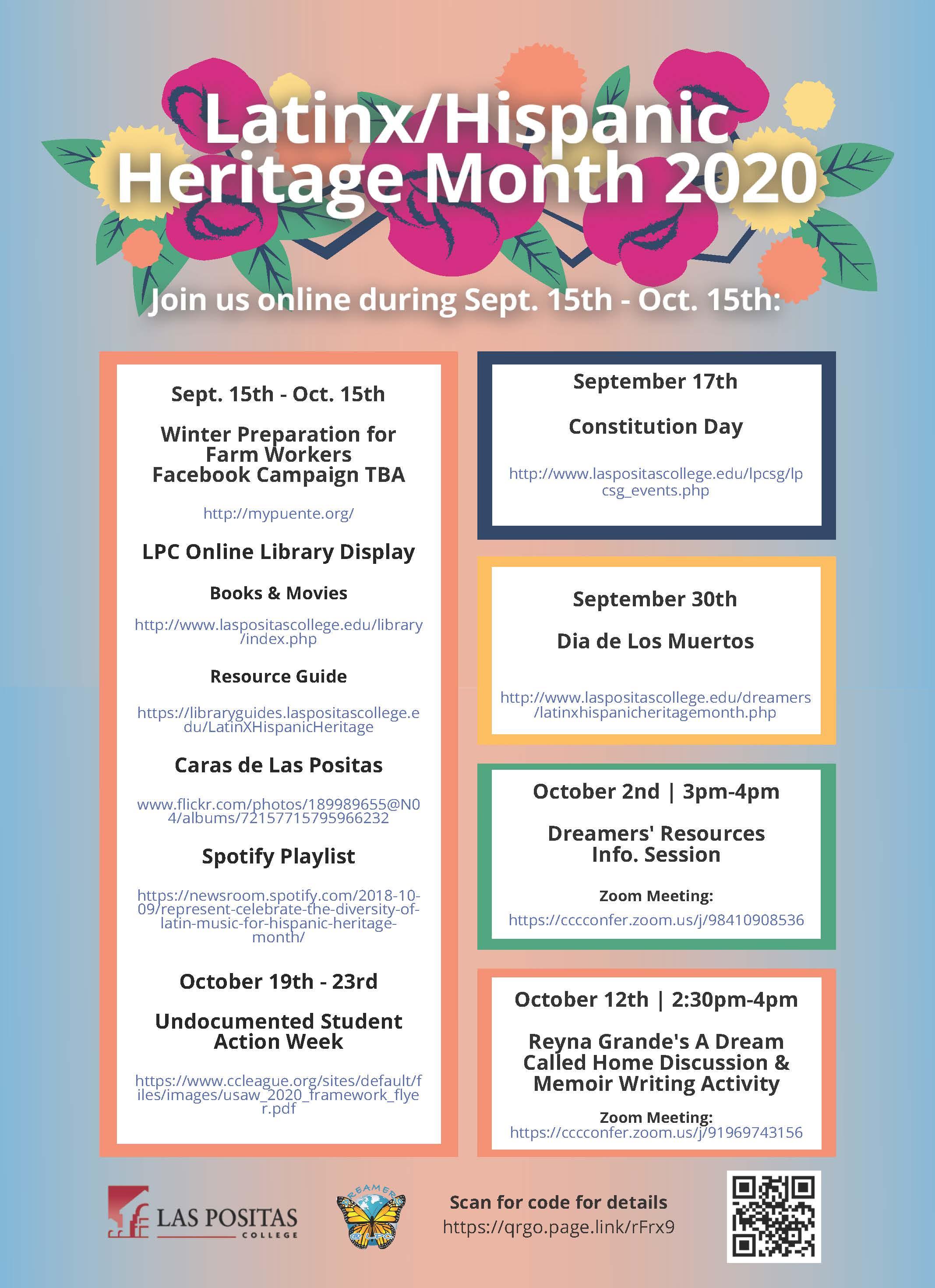 Celebrate Latino Heritage