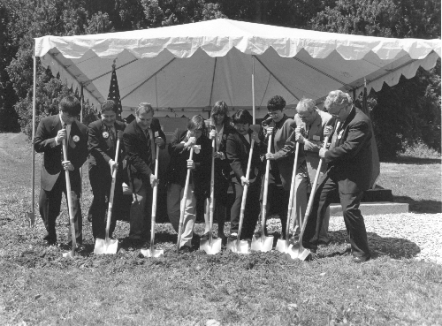 1998 UW Bothell and Cascadia College ground breaking ceremony