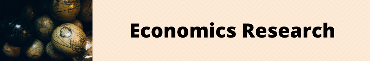 decorative banner for economics research