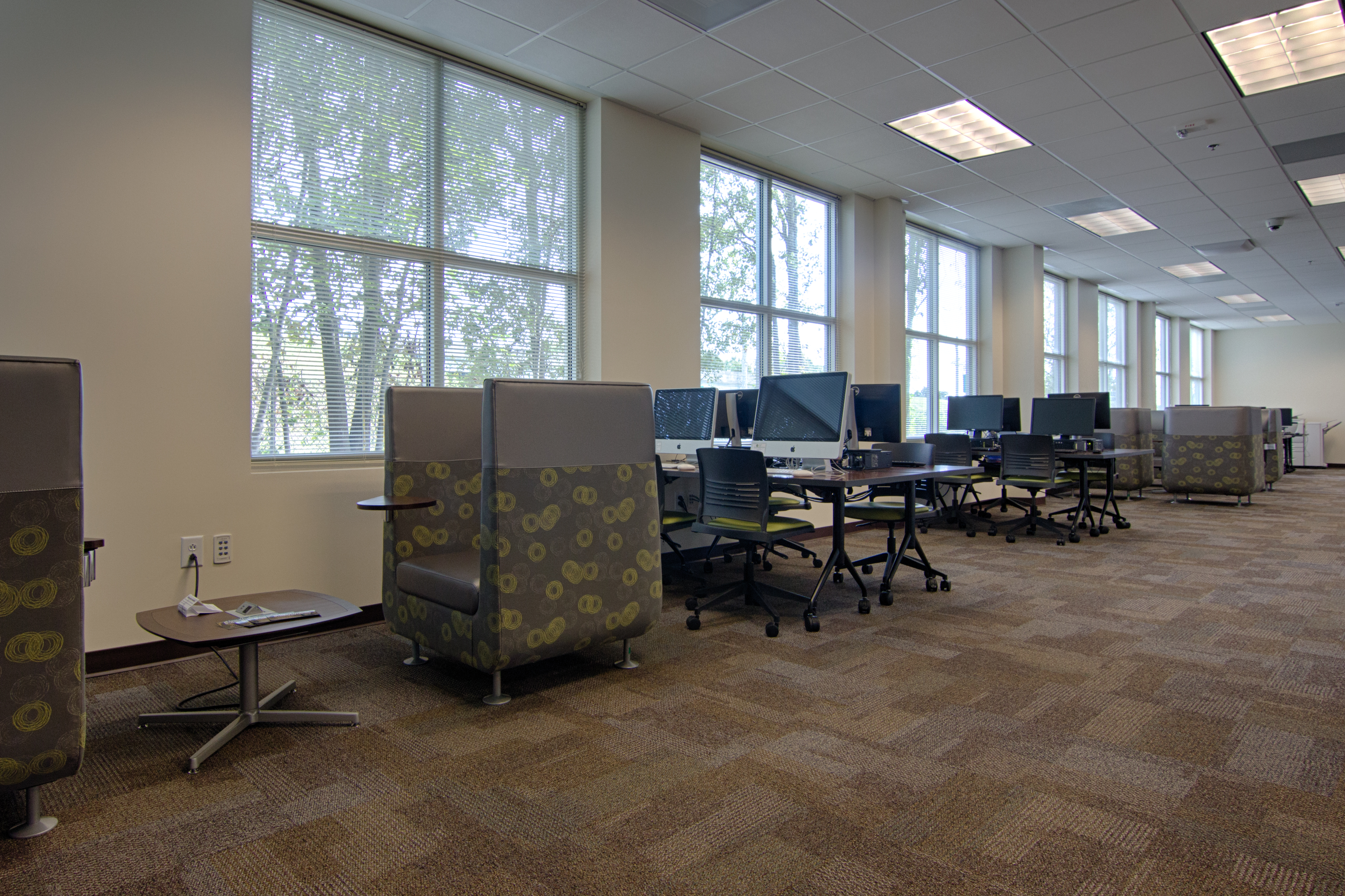 library view of seating
