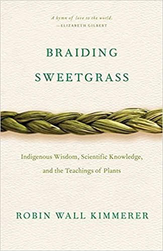 Cover of the book Braiding Sweegrass