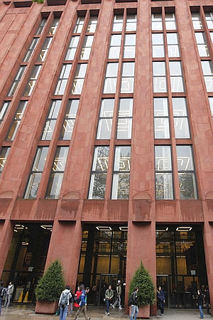 Exterior of Bobst Library