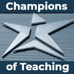 Champions of Teaching icon - TLED