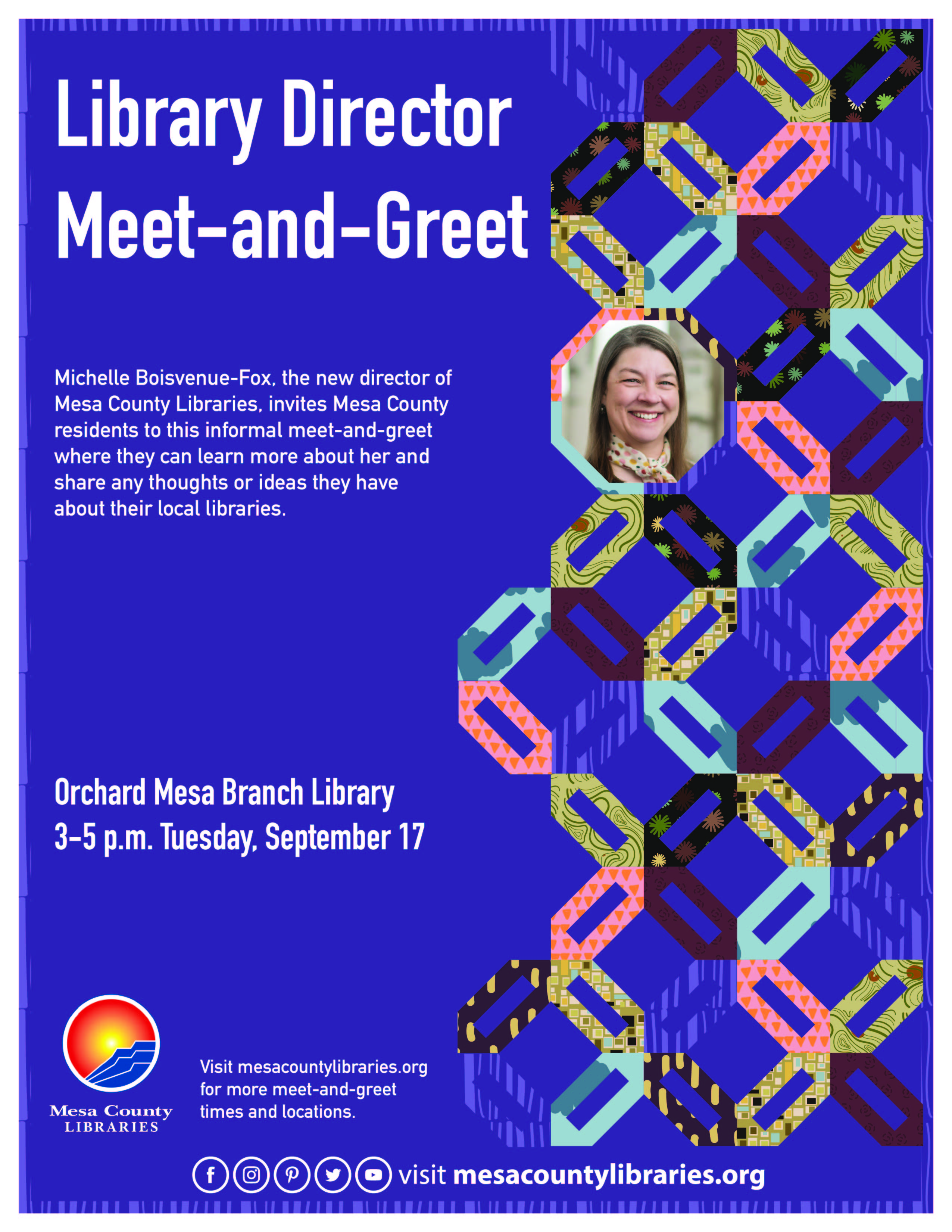 Library Director Meet-and-Greet with Michelle Boisvenue-Fox - Orchard Mesa Branch