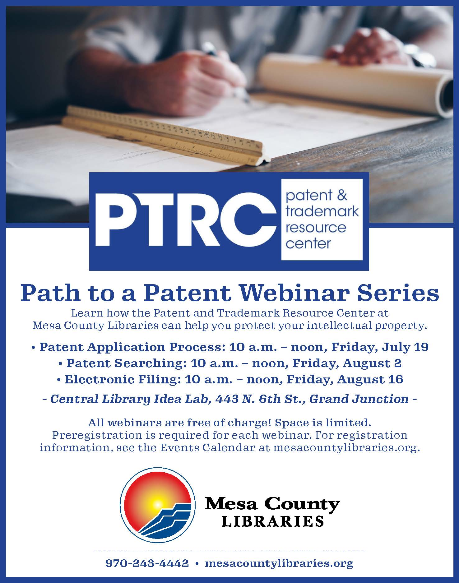 The Path to a Patent - Patent Application Process - Webinar Series Part 1 of 3