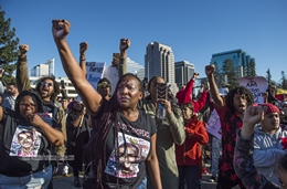 Black Lives Matter Protestors After the Shooting of Stephon Clark from Opposing Viewpoints