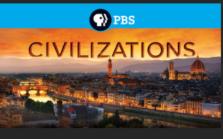 screenshot of scene from PBS series Civilizations