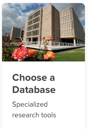 The Choose a Database button.