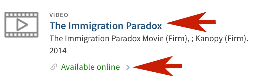 The Immigration Paradox - Available online