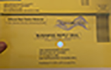 Ballot return envelope front