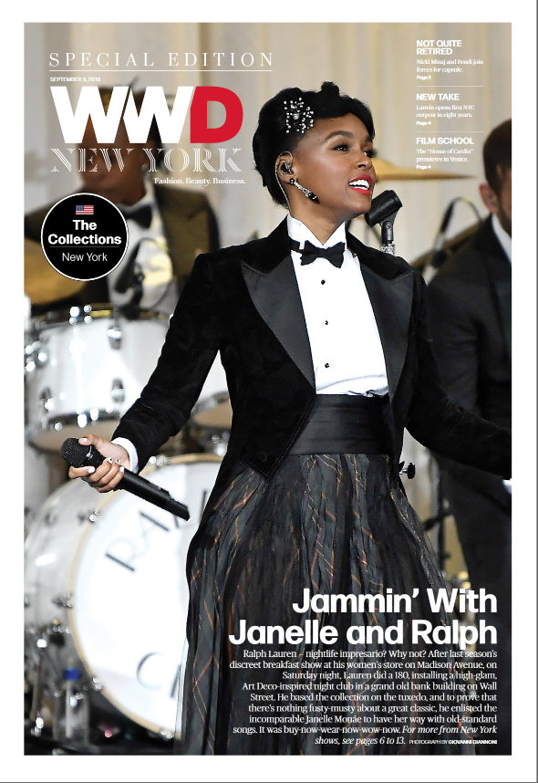 Cover photo of WWD report