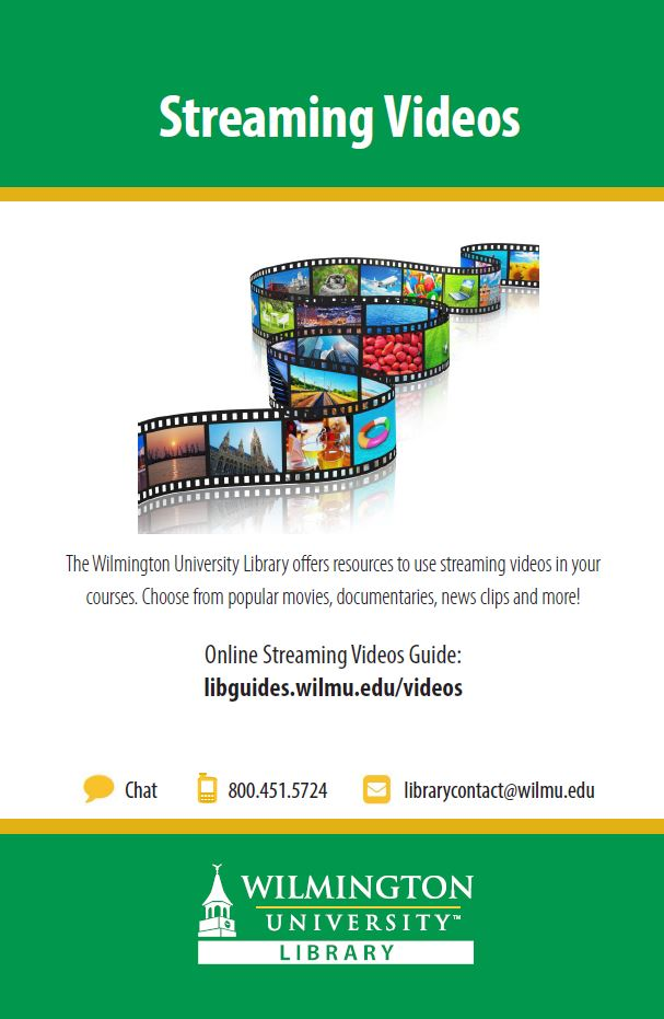 downloadable streaming video flyer