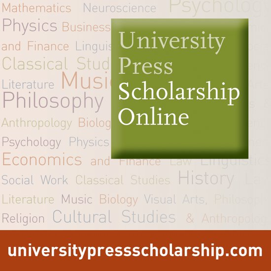 University Press Scholarship eBooks Logo Button