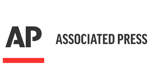 Associated Press Newswire Logo Button