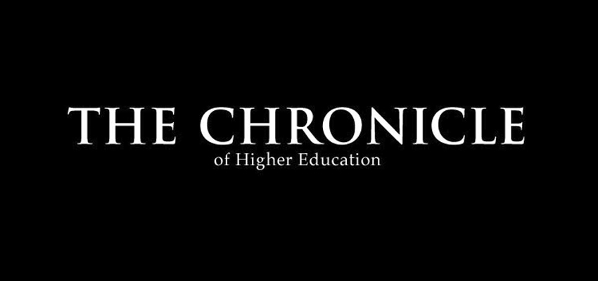 Chronicle of Higher Education Logo Button