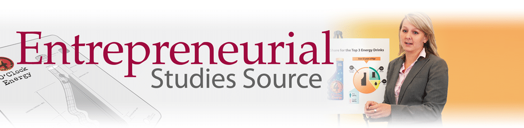 Entrepreneurial Studies Source Logo Button