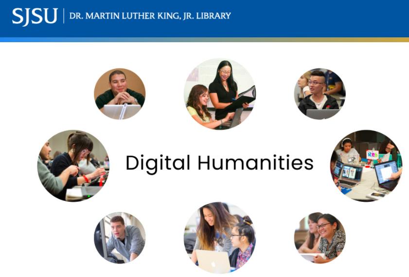 SJSU Digital Humanities Center NEH Grant Logo