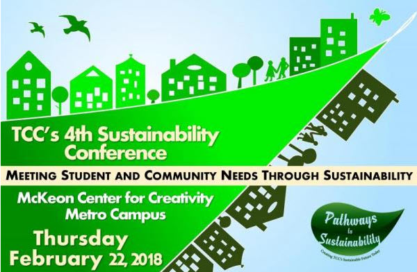 Logo for TCC's 4th annual sustainability conference