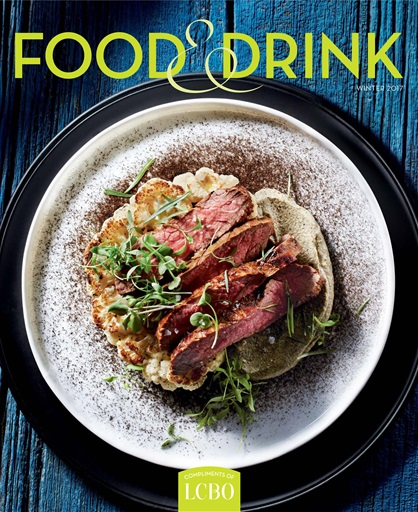 Food and Drink Magazine Cover Image