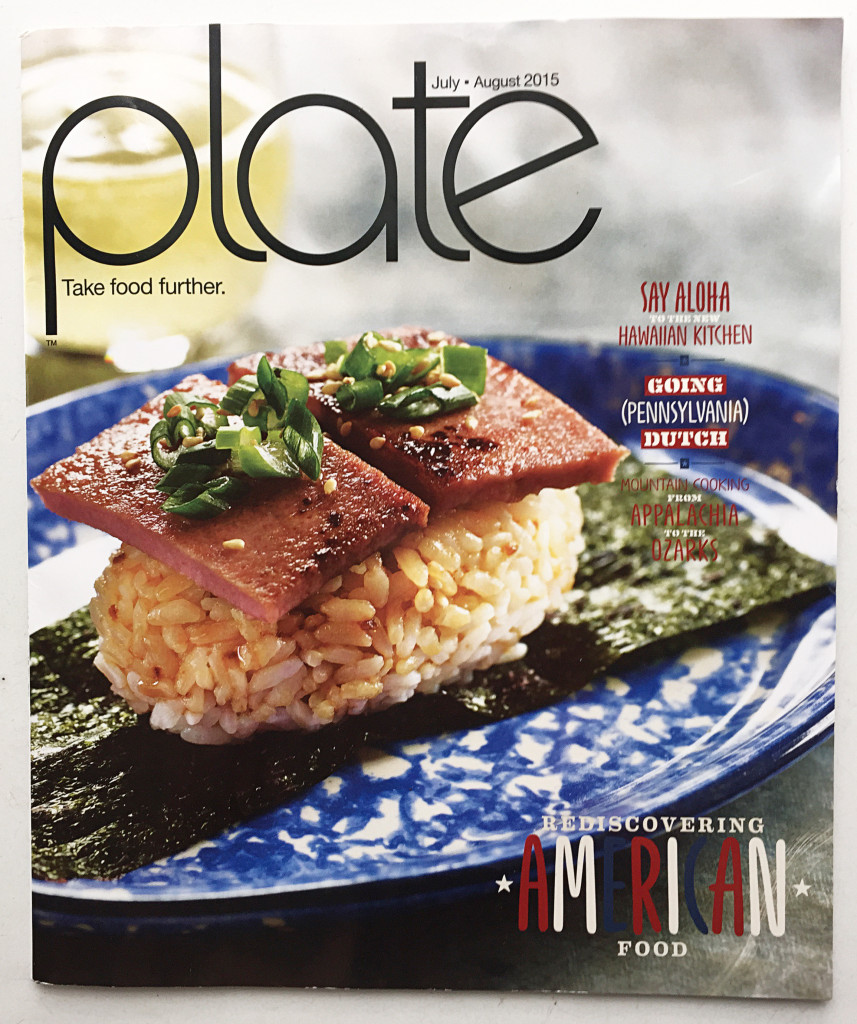 Plate Magaine Cover Image