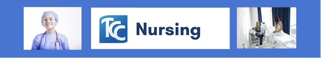 Banner that reads the word Nursing