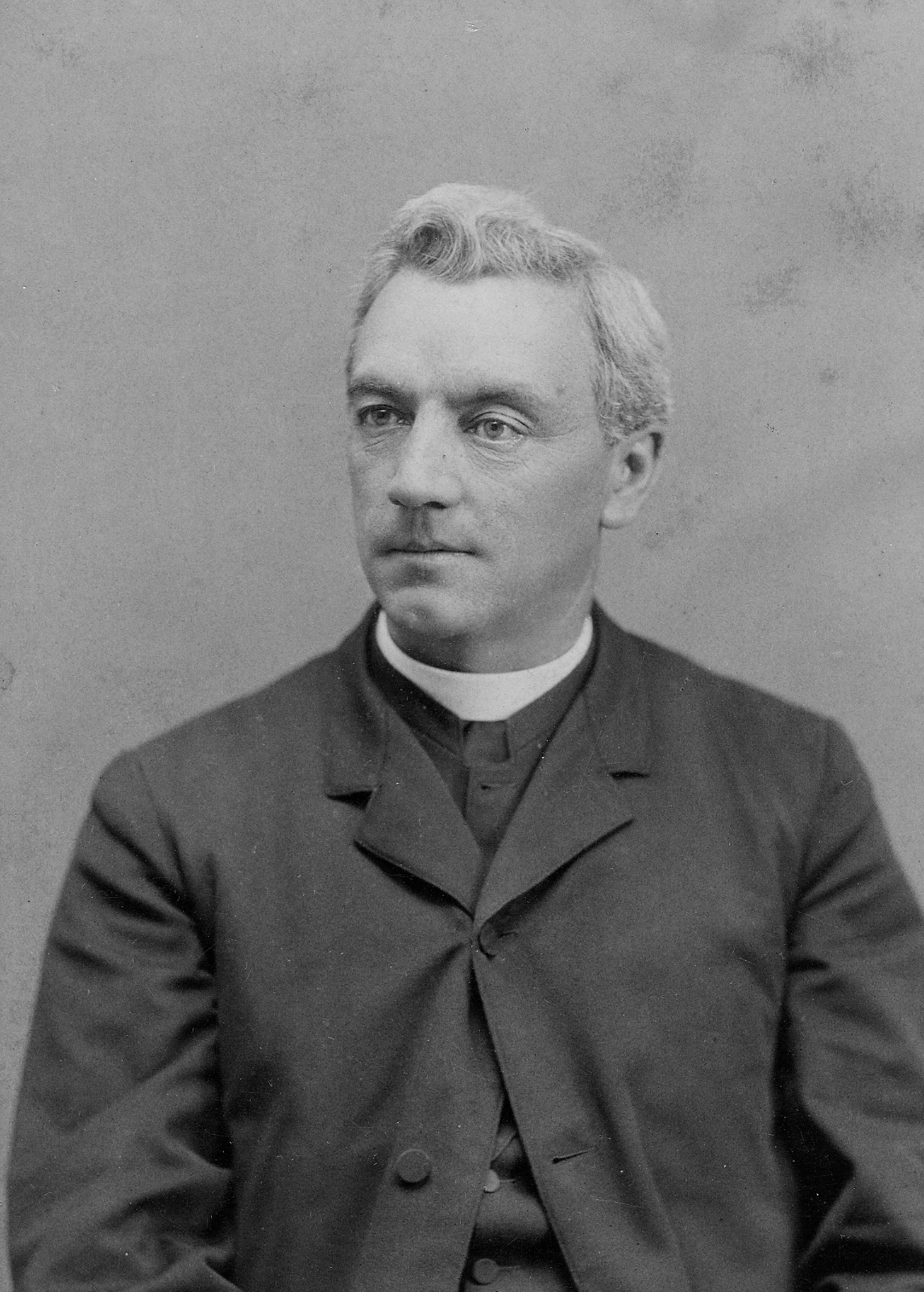 Patrick F. Healy S.J. pictured in 1882