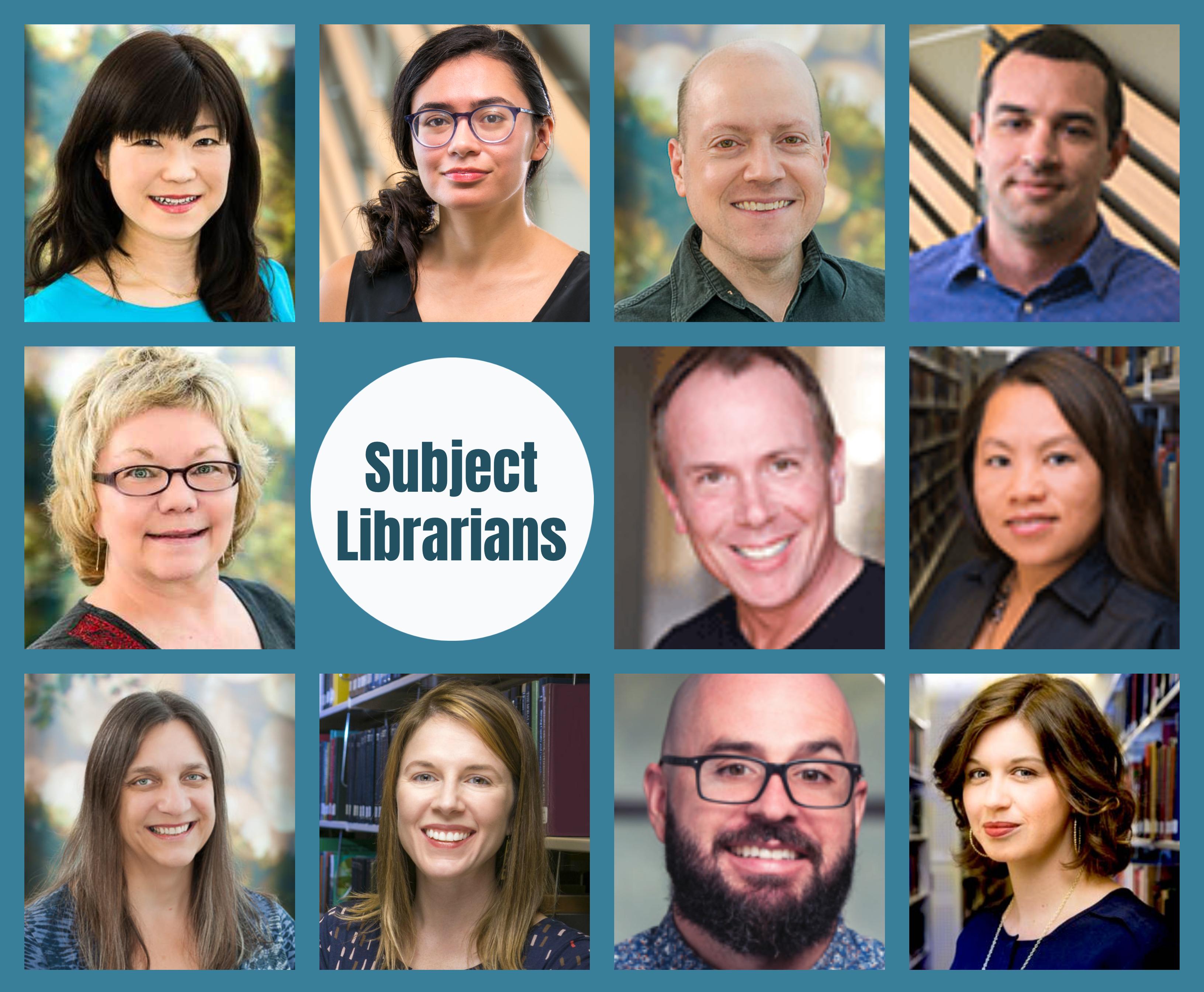 Subject librarians - photos