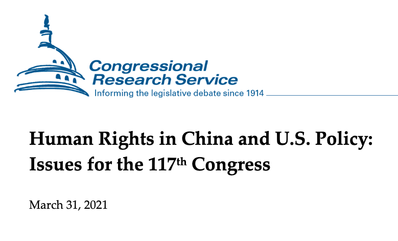 Human rights in China - CRS Report