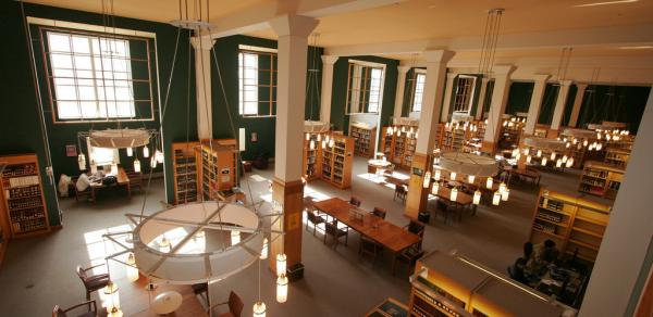 Reference Reading Room, CSI Library