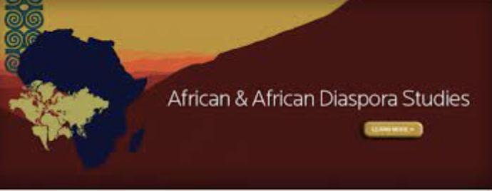 african & african diaspora studies                 logo