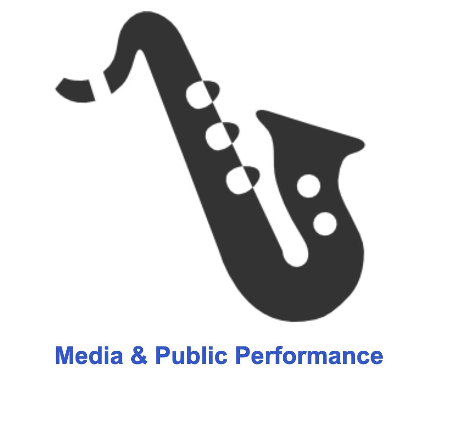 Decorative Icon, saxophone